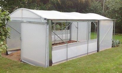 Wheelchair Accessible Greenhouse