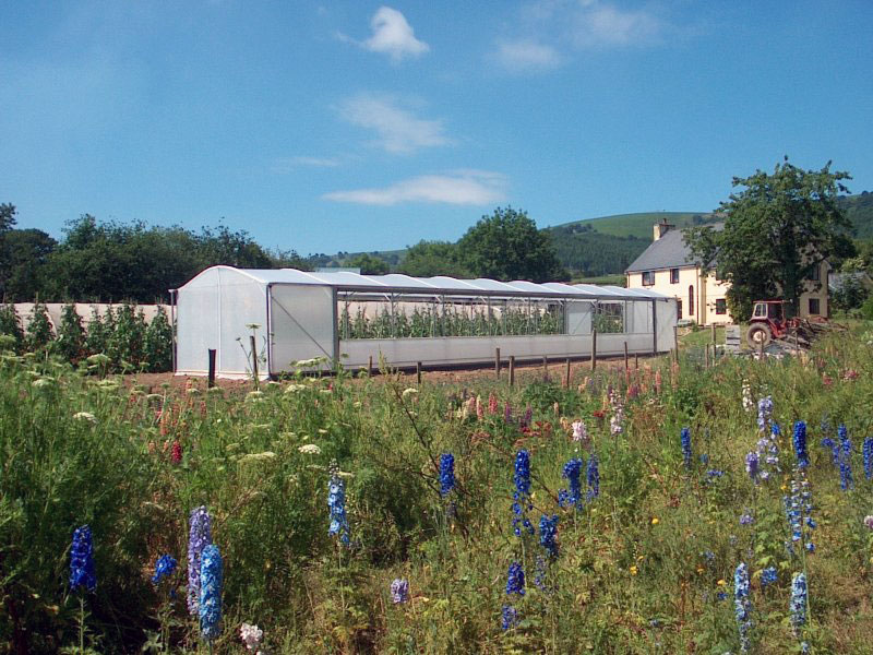 4 x 20 m Keder Greenhouse on a Smallholding