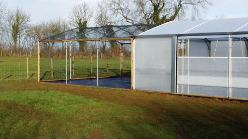 6 x 14m Keder greenhouse / Fruitcage