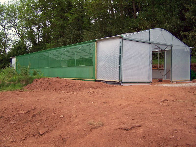 Keder greenhouse for Commercial Organic Vegetables